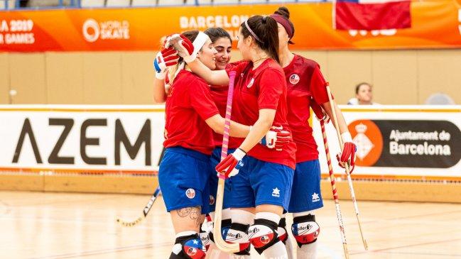 """Las """"Marcianitas"""" avanzaron con categoría a los cuartos de los World Games al vencer a Suiza"""