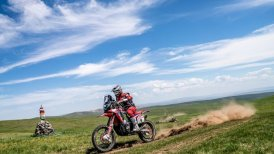 José Ignacio Cornejo se metió en el top ten en el Silk Way Rally