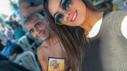 Tiene 22 años: La novia de Romario que se tomó las redes sociales