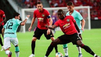 La victoria de Manchester United contra Inter de Milán en Singapur por la Champions Cup