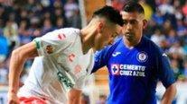 Necaxa igualó ante Cruz Azul en el debut de Juan Delgado en el fútbol mexicano