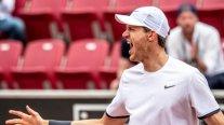 Jarry tras coronarse en Bastad: Jugué muy buen tenis, uno de los mejores de mi vida
