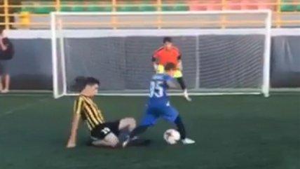 """Talentoso niño ruso deslumbró con una """"mágica"""" maniobra y es comparado con Lionel Messi"""