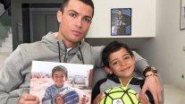 La reacción del hijo de Cristiano Ronaldo al conocer los humildes orígenes de su padre