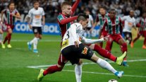 Corinthians y Fluminense igualaron y dejaron abierta su serie de cuartos en Copa Sudamericana