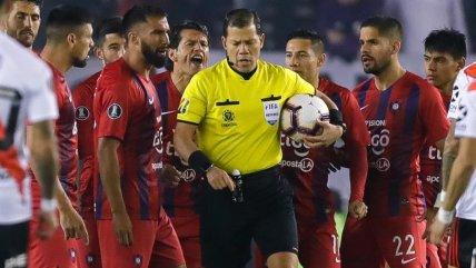 El VAR fue protagonista en victoria de River Plate sobre Cerro Porteño en Copa Libertadores