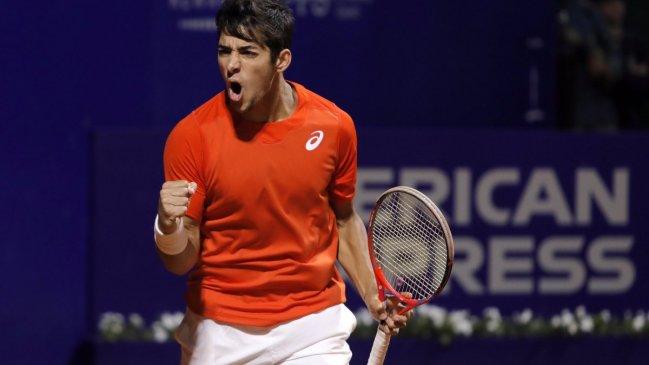 Cristian Garin fue confirmado dentro del cuadro principal del ATP 500 de Basilea
