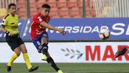 Pavez se animó con un remate de media distancia y logró el empate de Unión Española ante la U