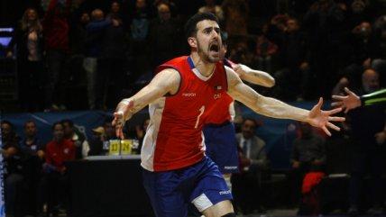 El vibrante triunfo de Chile ante Venezuela para subir al podio en el Sudamericano de Voleibol