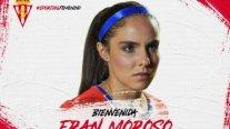 Chilena Francisca Moroso cambió de club en España y fichó por Sporting Gijón