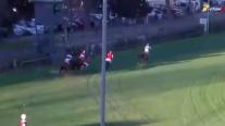 """Tres caballos fueron sacrificados tras accidente en """"carrera a la chilena"""" en el Club Hípico"""