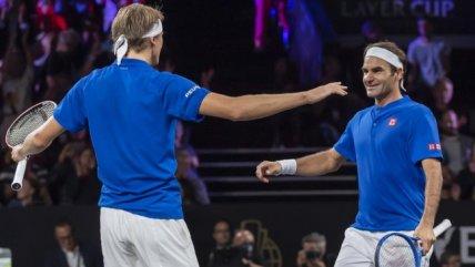 Federer y Zverev le dieron el tercer punto a Europa sobre Resto del Mundo en la Laver Cup