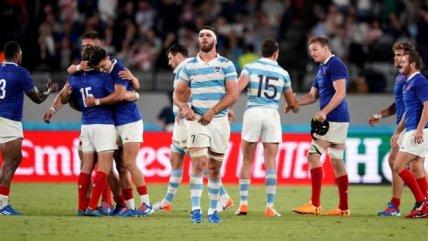 Argentina cayó ante Francia en su debut en el Mundial de Rugby de Japón 2019