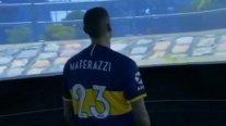 Marco Materazzi presenciará el Boca-River en La Bombonera