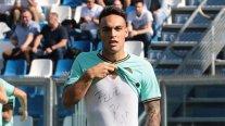 Antonio Conte: Lautaro Martínez se está convirtiendo en un delantero completo