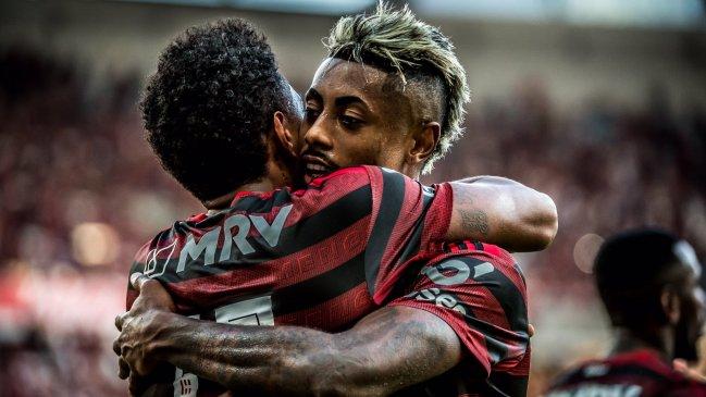 Flamengo aplastó a Corinthians y se aseguró jugar la Libertadores 2020