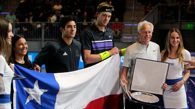 Chile se medirá con Novak Djokovic en la ATP Cup 2020