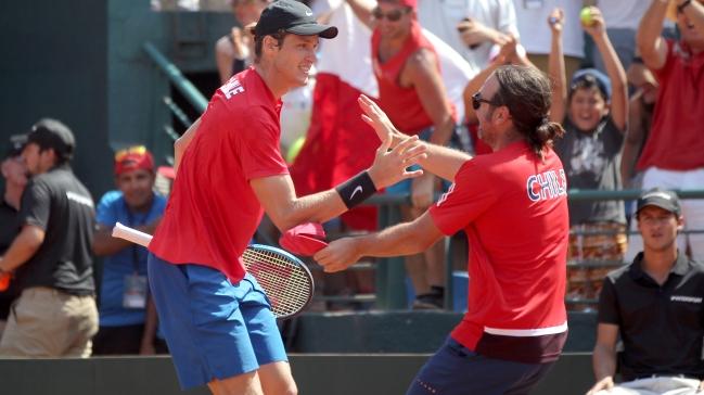 Christian Garín en Copa Davis:
