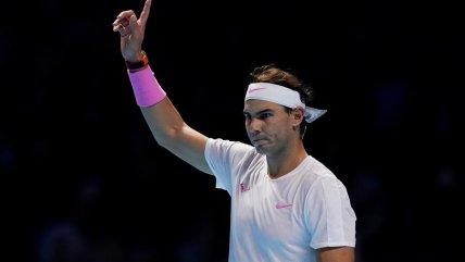 La vibrante victoria de Rafael Nadal sobre Stefanos Tsitsipas en el O2 Arena en Londres