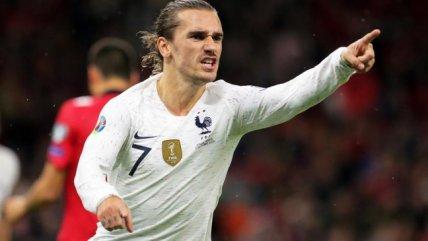 [Video] Griezmann volvió al gol con Francia en el triunfo sobre Albania en las Clasificatorias a la Euro 2020 - AlAireLibre.cl