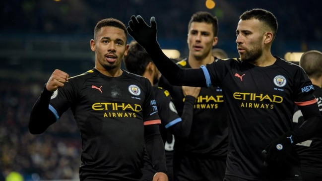 Manchester City goleó a Burnley y recuperó el subliderato en la Premier League