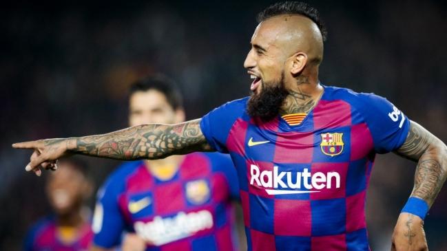 Inter de Alexis se juega el paso a octavos de la Champions ante Barcelona con Arturo Vidal