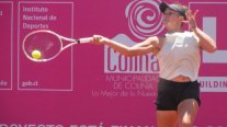 Bárbara Gatica tuvo una leve alza en el ranking de la WTA