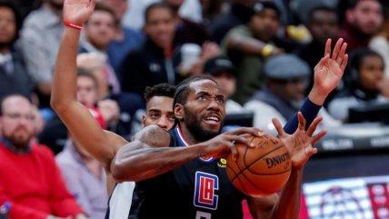 Los Clippers vencieron a Washington y acosan a Lakers en el Oeste