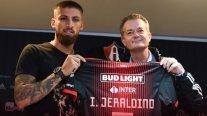 Ignacio Jeraldino fue presentado en Atlas: Quiero dar lo mejor y volver a ser convocado a la Roja