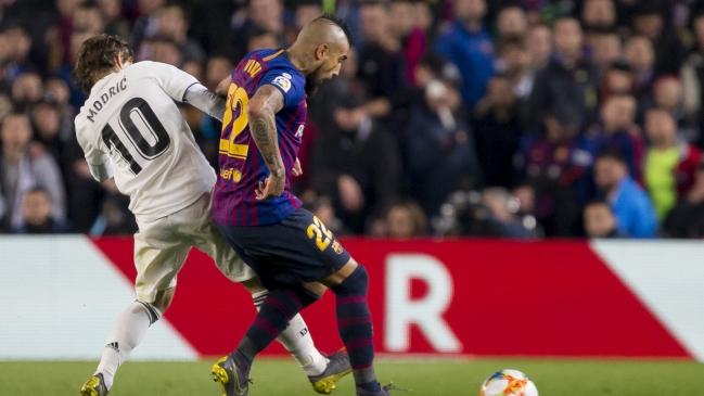 Arturo Vidal está molesto por no ser titular en el clásico