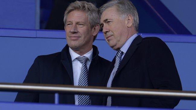 Carlo Ancelotti fue anunciado como nuevo entrenador de Everton en Inglaterra