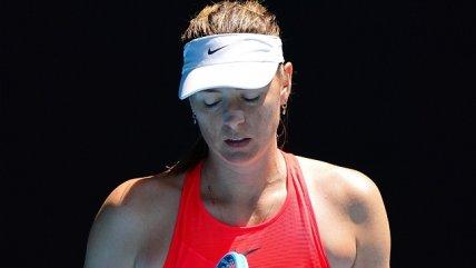 Maria Sharapova tuvo debut y despedida en el Abierto de Australia