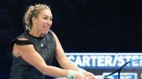 Alexa Guarachi debuta esta noche en el dobles del Abierto de Australia