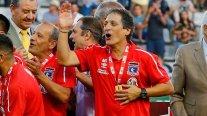 Mario Salas tras ganar la Copa Chile: La jerarquía de los jugadores está por sobre todo