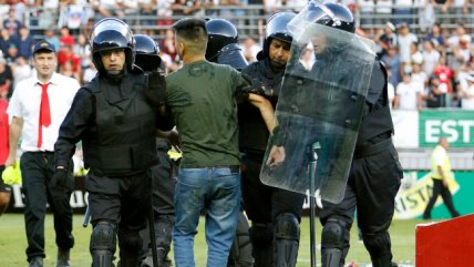 """Así actuaron los """"robocops"""" en el Superclásico entre Colo Colo y la U por Copa Chile"""
