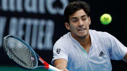 La derrota de Cristian Garin a manos de Milos Raonic en el Abierto de Australia