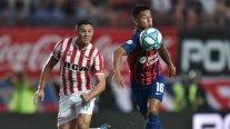 Juan Fuentes fue titular y Javier Mascherano debutó en empate de Estudiantes con San Lorenzo
