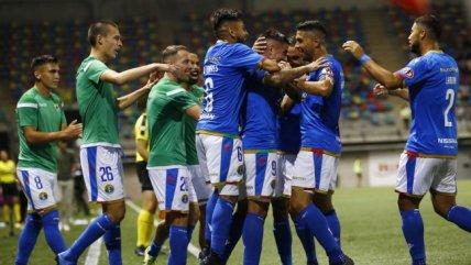Audax Italiano se impuso con categoría a Cobresal en su debut en el Campeonato Nacional