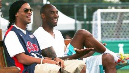 De Ronaldinho a Maradona: Estrellas del fútbol también lloraron la muerte de Kobe Bryant