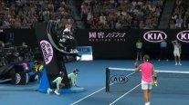 """""""No te gusta el buen tenis"""": Nadal discutió con umpire que le dio una advertencia ante Thiem"""