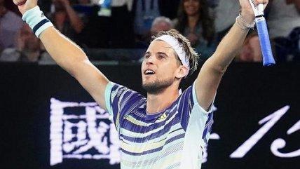 Thiem alcanzó por primera vez las semifinales en Australia tras doblegar en un partidazo a Nadal