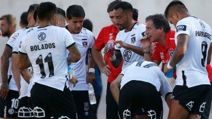 El equipo que prepara Colo Colo para recibir a Universidad Católica en el Monumental