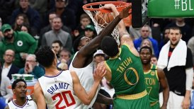 Boston Celtics derribó en doble prórroga a Los Angeles Clippers en la NBA