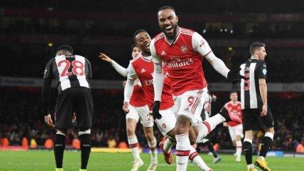 Arsenal apabulló a Newcastle y volvió al triunfo en la Premier Legue