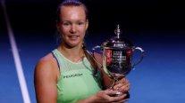 Kiki Bertens se quedó nuevamente con el título del WTA de San Petersburgo