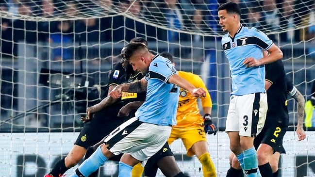 Lazio derrotó a Inter de Milán y le quitó la segunda posición de la liga italiana