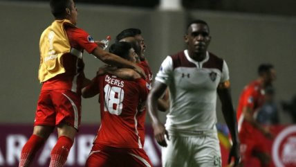 El aplaudido avance de La Calera en la Sudamericana a costa de Fluminense