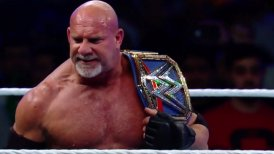 Goldberg conquistó el título universal en el WWE Super Showdown