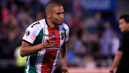 La alineación que prepara Palestino para enfrentar a Guaraní en Copa Libertadores