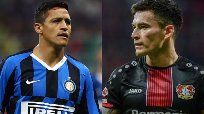 Alexis Sánchez y Charles Aránguiz conocieron a sus rivales en octavos de la Europa League